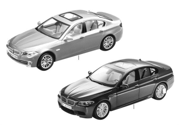Миниат.модели BMW — BMW 5-й сер.13/14