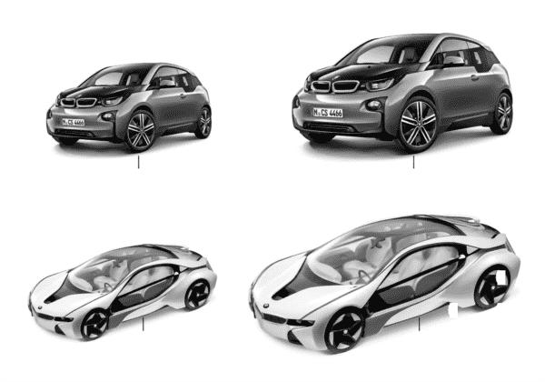 Миниат.модели BMW-BMWi/BMW Vision 13/14