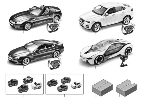 BMW Kids — миниат.мод. и Fun Cars 14/16