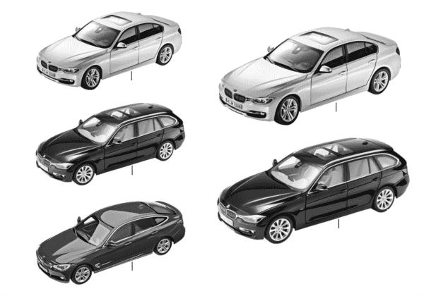 Миниат.модели BMW — BMW 3-й сер.14/16
