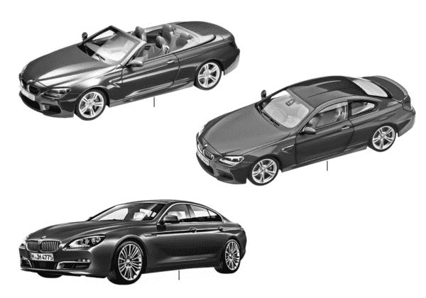 Миниат.модели BMW — BMW 6-й сер.14/16