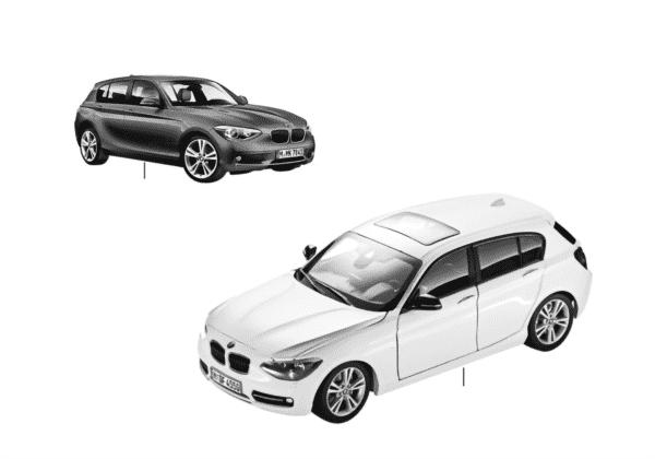 Миниат.модели BMW — BMW 1-й сер.14/16