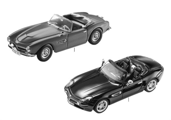 Миниат.мод.BMW — BMW Z8 и 507 Кабриолет