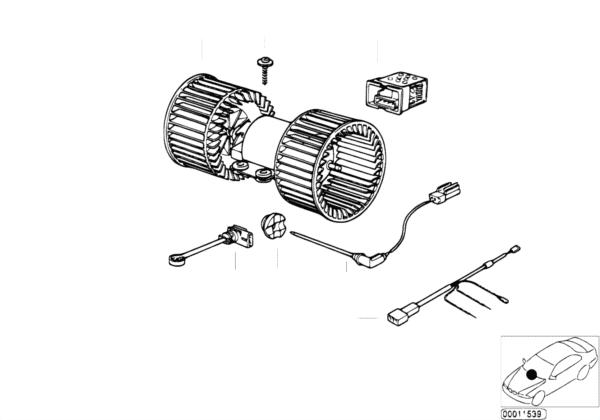 Электрические детали авт.сист.кондицион.