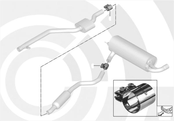 Ремонтный комплект распорной втулки