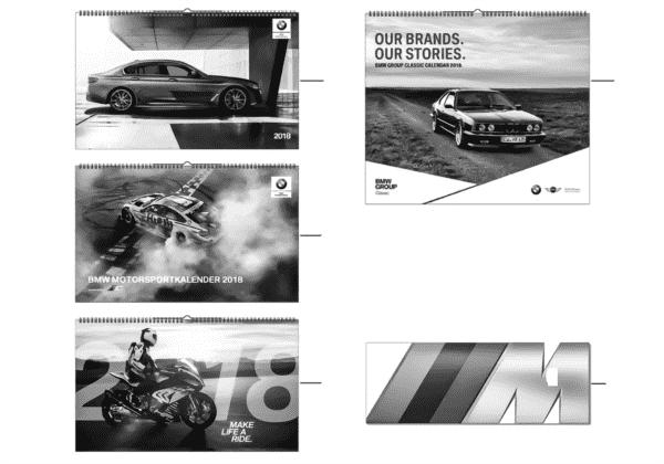 BMW Collection - eCom календарь