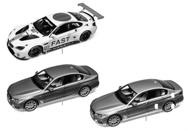 BMW миниатюрные модели 2018-2020