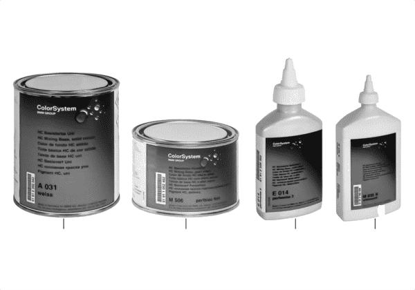 HC базовые краски