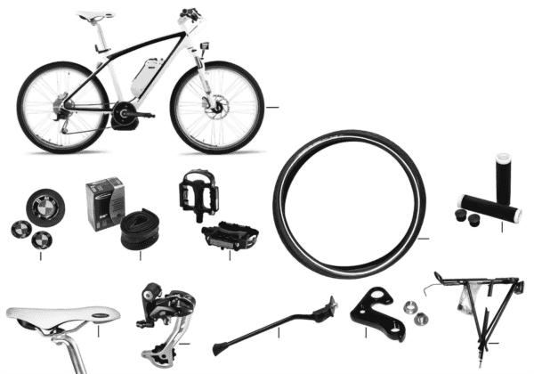 Запасные части BMW - Cruise e-Bike