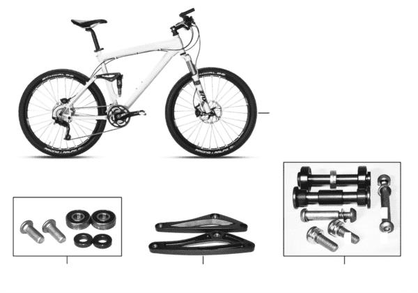 BMW запчасти- MTB CC Bike