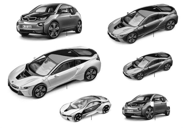 Миниат.модели BMW - BMW i Vision 14/16