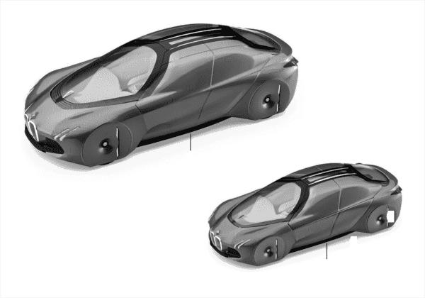 BMW Miniaturen - Vision next 100