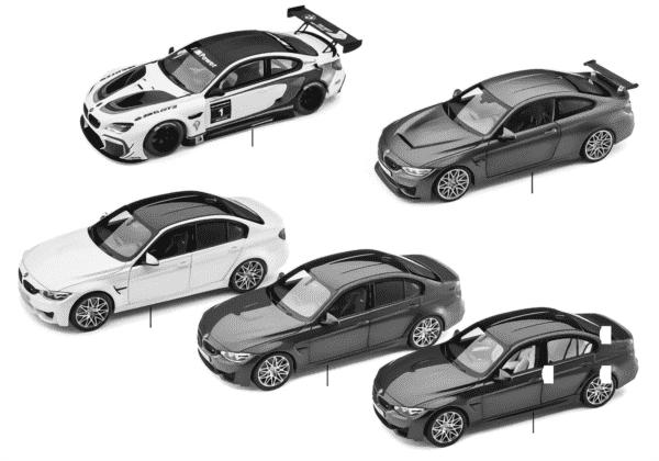 Миниатюрные модели BMW - BMW M 2016