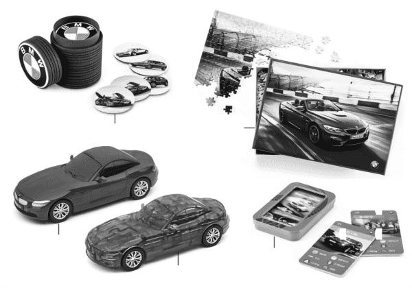 BMW детская программа - игрушки 16-18