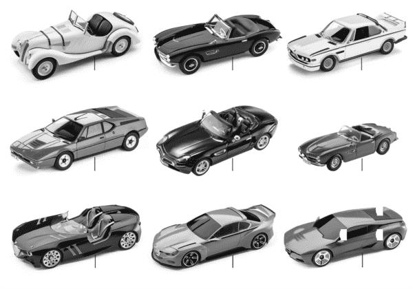 Мин.модели BMW- 1:18 Heritage Collection