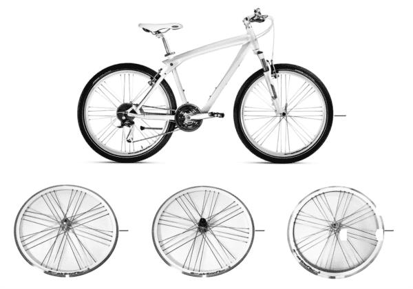 BMW запчасти - Cruise Bike 2012,13 белый