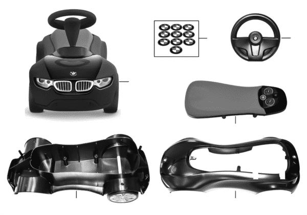 BMW запасные части - BBR III 2413782