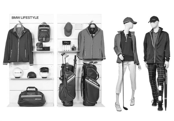 BMW Golfsport двойн.презентацион.стена