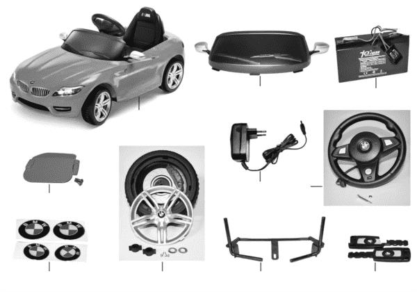 BMW запчасти - Z4 RideOn