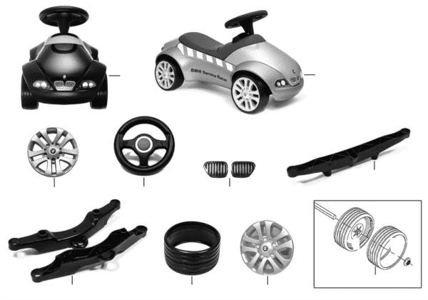 BMW Ersatzteile - Baby Racer II