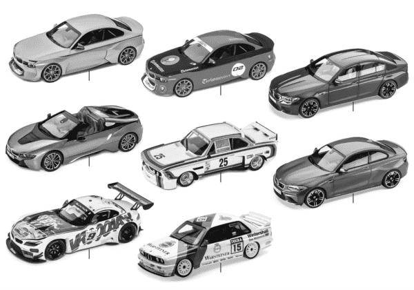 BMW миниатюрные модели 2018
