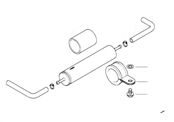 Топливопроводы/топливный фильтр