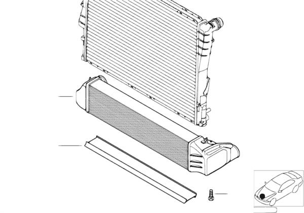 Система охлаждения наддувочного воздуха